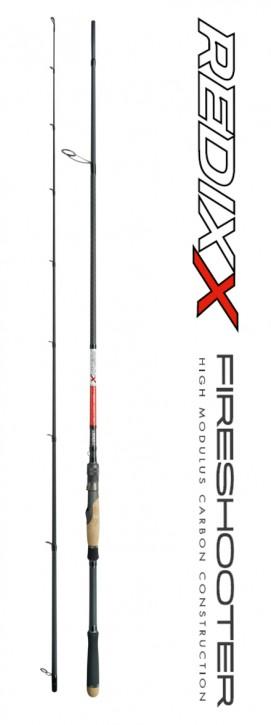 Jenzi Spinnrute Redixx Fireshooter 25-75g 2,10m