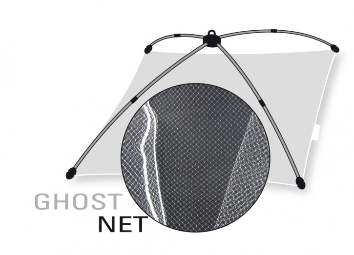 Jenzi Ghost-Monofiles Senknetz