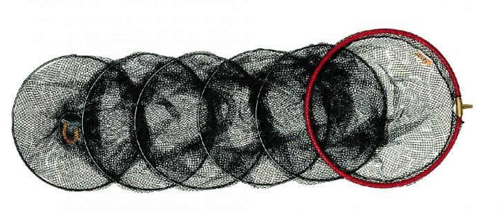 Jenzi Setz-Kescher mit Standardmasche 8 mm 1,50m