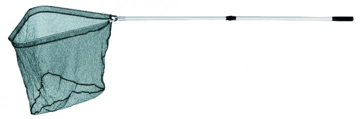 Jenzi Unterfangkescher Deluxe, 2-teilig, 60x60cm, Länge 230cm