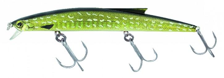 Jenzi Wobbler Speedy Schwimmend 12,5cm 14g Farbe Pike