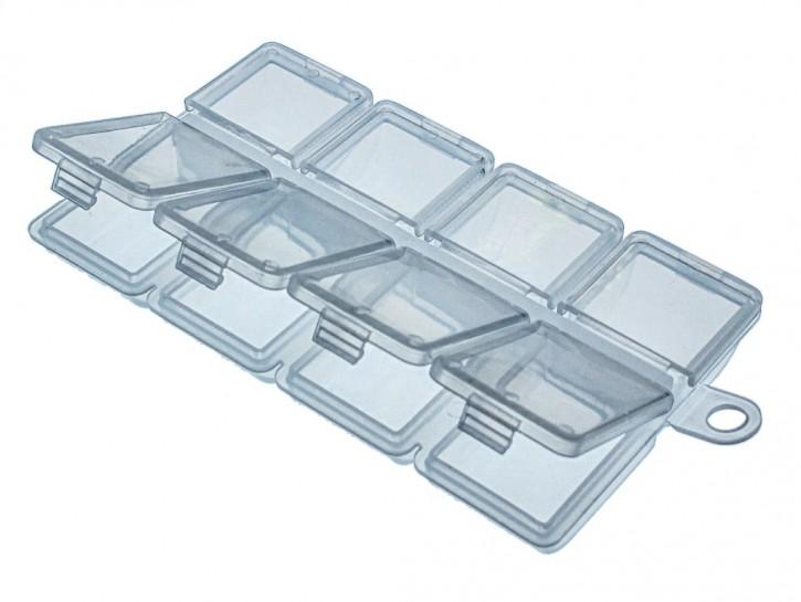 Jenzi Kunststoff-Box transparent 102x62x13mm