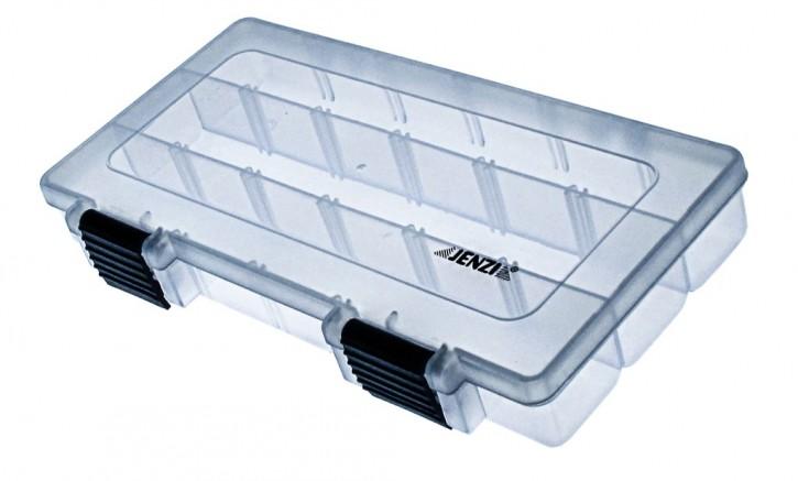 Jenzi Kunststoff-Box transparent 228x112x35mm