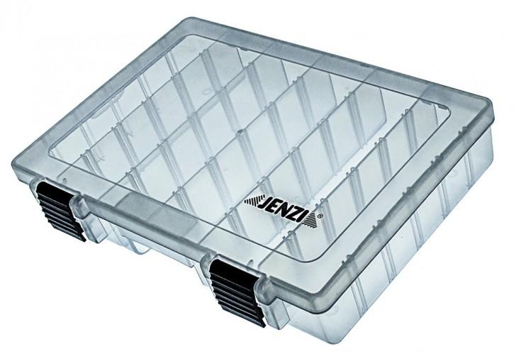 Jenzi Kunststoff-Box transparent 273x176x44mm