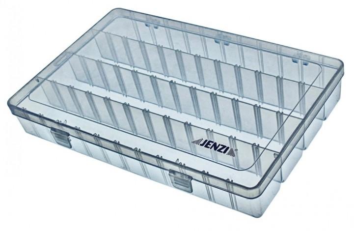 Jenzi Kunststoff-Box transparent 360x225x50mm