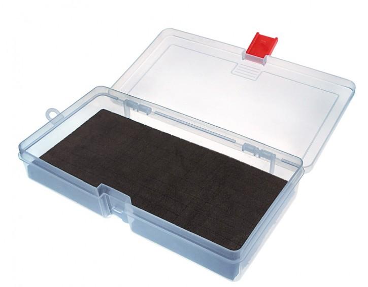 Jenzi Kunststoff-Box transparent 214x113x40mm