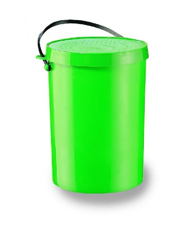 Jenzi Wurm- und Ködereimer grün 0,5 ltr