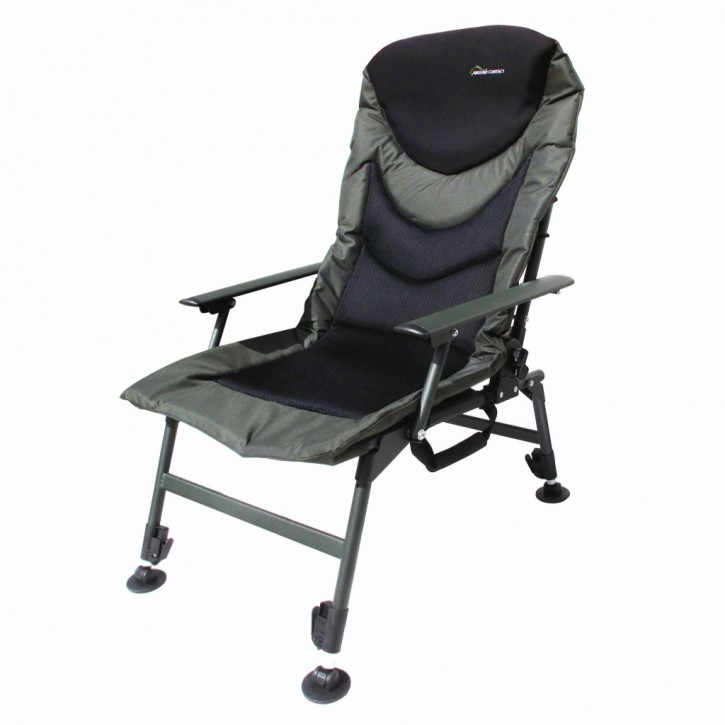 Jenzi GROUND CONTACT Comfort Chair with Armrest Karpfenstuhl