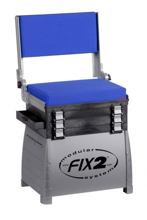 Jenzi Sitzkiepe mit Rückenlehne Modell Deluxe