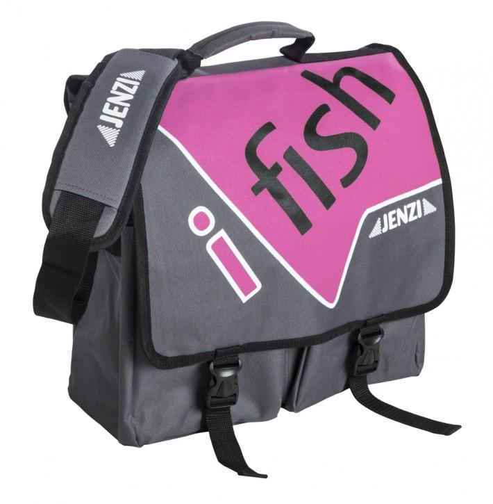 Jenzi Umhängetasche I-Fish Pink