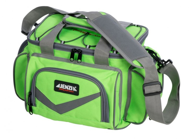 Jenzi Outdoor Fishing Angeltasche Deluxe