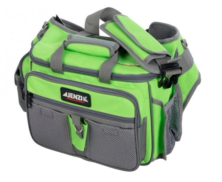 Jenzi Outdoor Fishing Angler-Umhänge-/Bauchtasche Multi-Bag Deluxe