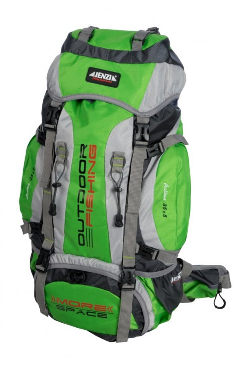 Jenzi Angler-Outdoor/Fishing Rucksack More Space Pro 35+5L