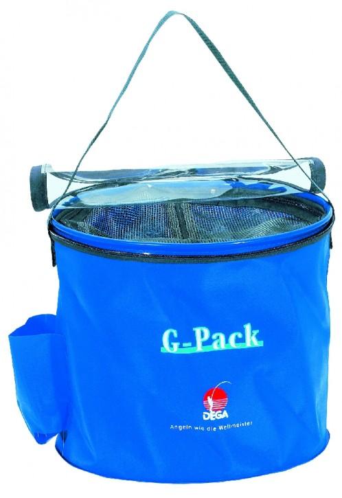 Dega Falteimer G-Pack blue - mit Reißverschluss